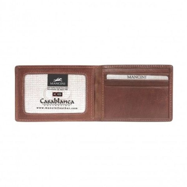 MANCINI MEN'S BILLFOLD WITH REMOVABLE PASSCASE (8700852)