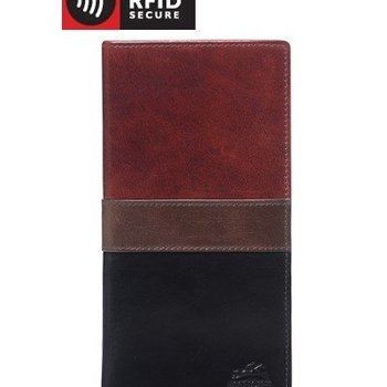 MANCINI MEN'S LEATHER BREAST POCKET WALLET (1409-165)