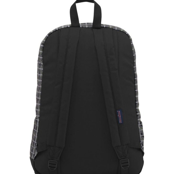 JANSPORT CITY SCOUT BACKPACK, MUTED GREEN WINDOW PANE (JS00T29A)