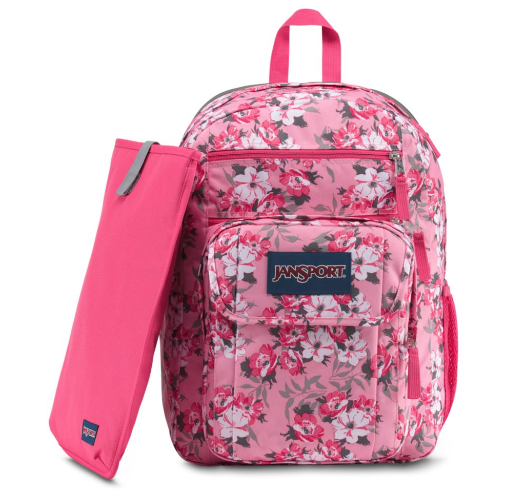 737fac0386f JANSPORT DIGITAL STUDENT BACKPACK, PRISM PINK PRETTY POSEY (JS00T69D)