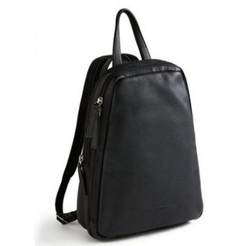 DEREK ALEXANDER NS SMALL LEATHER BACKPACK/SLING, BLACK (CP-8666)