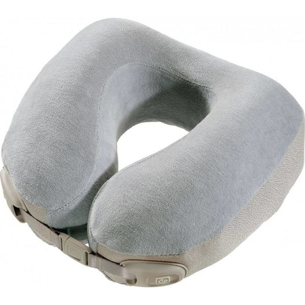 GO TRAVEL PREMIUM MEMORY PILLOW, GREY (461)