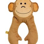 GO TRAVEL MONKEY FLAT NECK PILLOW (2698)