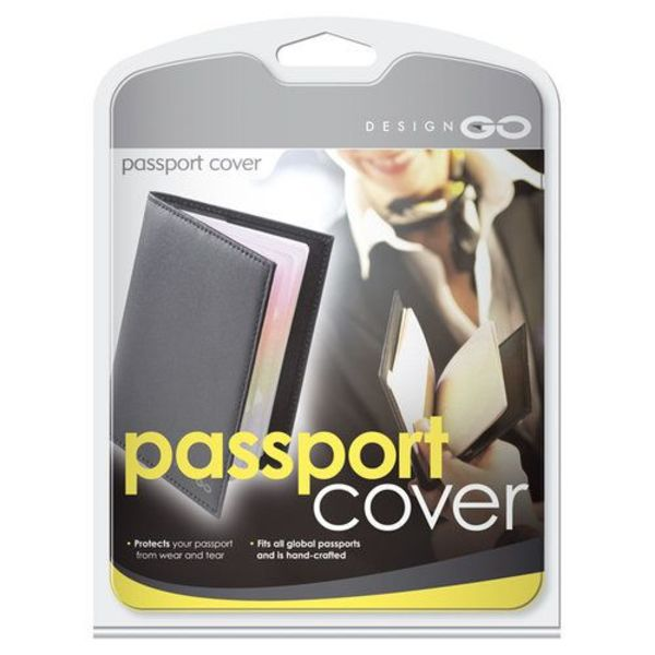 GO TRAVEL PASSPORT COVER (312)