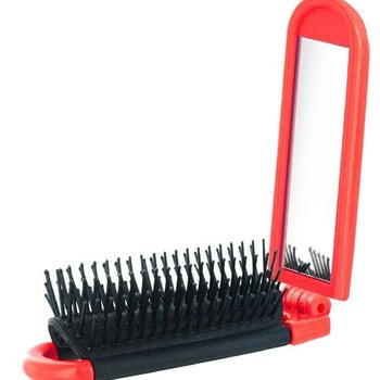 CANADIAN GIFT CONCEPTS ENROUTE MIRROR HAIRBRUSH (ENR-HBRSH)