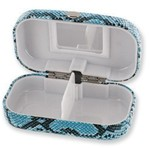 CANADIAN GIFT CONCEPTS DESIGNER PILL BOX W/ MIRROR MPLB-