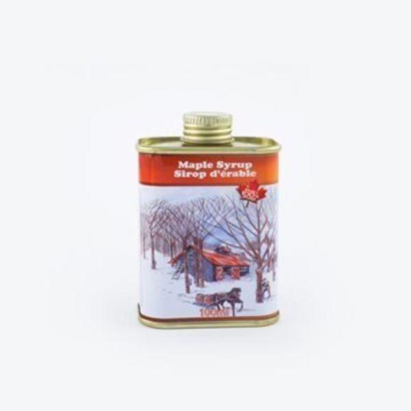 MAPLE SYRUP 100ML TIN NO.2 AMBER (401103)