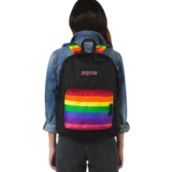 JANSPORT HIGH STAKES BACKPACK, RAINBOW DREAMS (JS0A3P6Z)