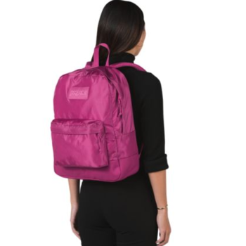 JANSPORT MONO SUPERBREAK BACKPACK, MAGENTA HAZE (JS0A3P6X)