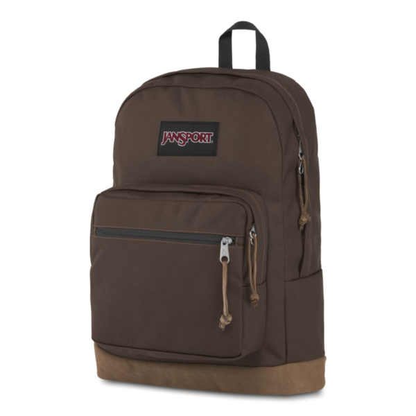 JANSPORT RIGHT PACK BACKPACK, COFFEE BEAN BROWN (JS00TYP7)