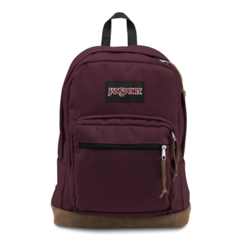 JANSPORT RIGHT PACK BACKPACK, DRIED FIG (JS00TYP7)