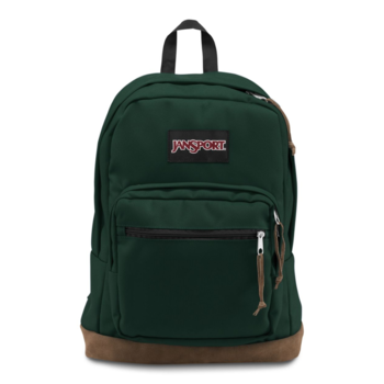 JANSPORT RIGHT PACK BACKPACK, PINE GROVE GREEN (JS00TYP7)
