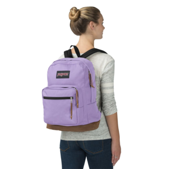 JANSPORT RIGHT PACK BACKPACK, PURPLE DAWN (JS00TYP7)