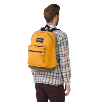 JANSPORT RIGHT PACK BACKPACK, ENGLISH MUSTARD YELLOW (JS00TYP7)