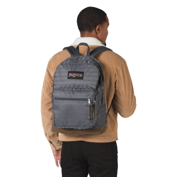 JANSPORT RIGHT PACK EXPRESSIONS BACKPACK, DEEP GREY OMBRE HERRINGBONE (JS00TZR6)