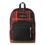 JANSPORT RIGHT PACK EXPRESSIONS BACKPACK, RED DIAMOND PLAID (JS00TZR6)