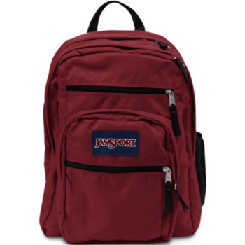 JANSPORT BIG STUDENT BACKPACK, VIKING RED (JS0A47JK)
