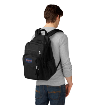 JANSPORT BIG STUDENT BACKPACK, BLACK (JS0A47JK)