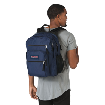 JANSPORT BIG STUDENT BACKPACK, NAVY (JS0A47JK)