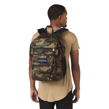 JANSPORT BIG STUDENT BACKPACK, SURPLUS CAMO (JS0A47JK)