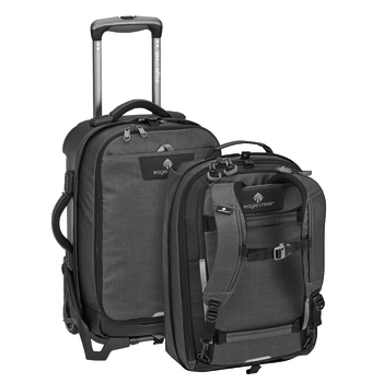 EAGLE CREEK MORPHUS INTERNATIONAL CARRY-ON ASPHALT BLACK