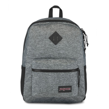 JANSPORT SPORT FX BACKPACK, BLACK WOVEN KNIT (JS0A3P5L)
