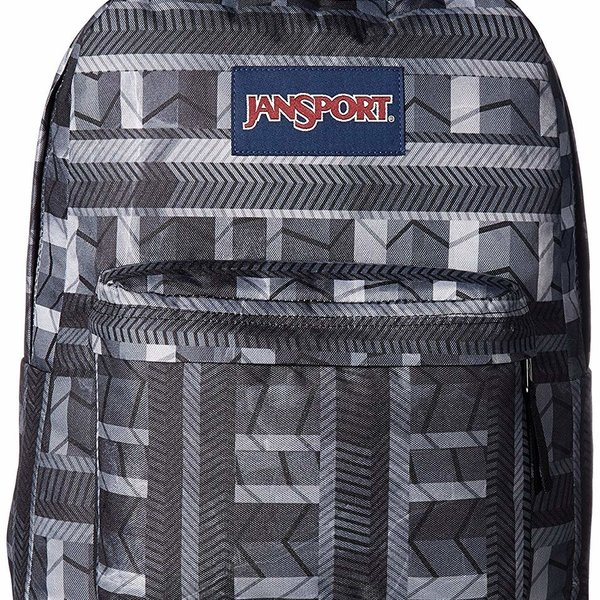 JANSPORT SUPERBREAK BACKPACK, CHEVRON COLUMNS (JS00T501)
