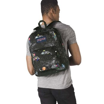 JANSPORT SUPERBREAK BACKPACK, SPACE METRICS (JS00T501)