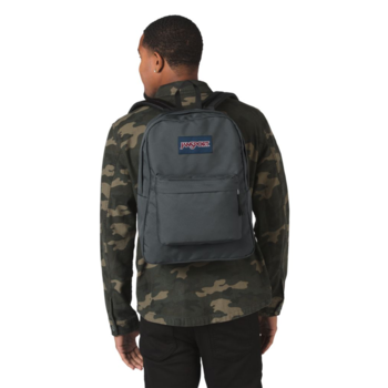 JANSPORT SUPERBREAK BACKPACK, DEEP GREY (JS00T501)