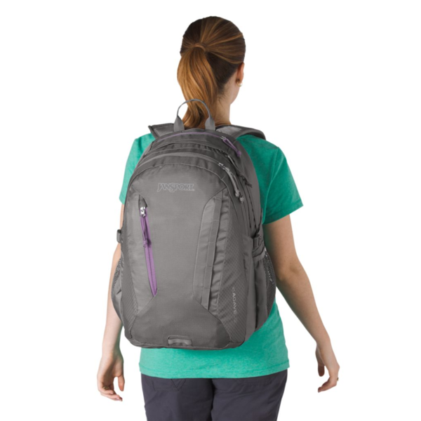 JANSPORT WOMEN'S AGAVE BACKPACK, SHADY GREY (JS00T70L)