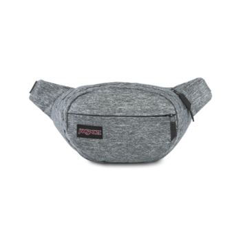 JANSPORT FIFTH AVENUE FX FANNY PACK, BLACK WOVEN KNIT (JS0A3P7C)