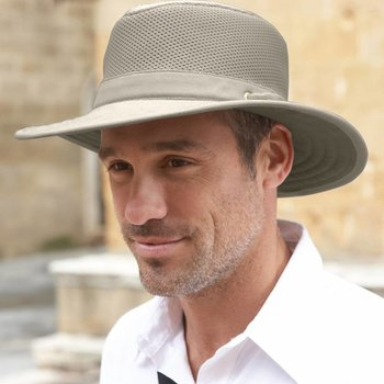 TILLEY TILLEY HAT (TM10B) COTTON MESH 7 5/8 KHAKI