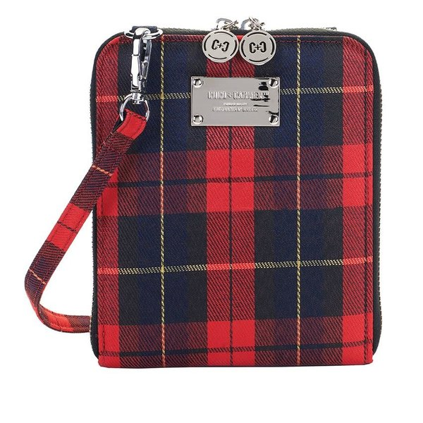 COCO+CARMEN HOLIDAY SUKI PLUS CROSSBODY (1938014A) RED PLAID