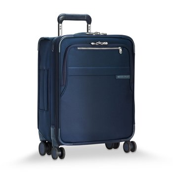 BRIGGS & RILEY BASELINE NAVY CARRY-ON WIDE BODY SPINNER (U121CXSPW-5)