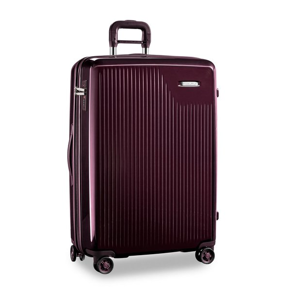 BRIGGS & RILEY SYMPATICO LARGE EXPANDABLE SPINNER, PLUM (SU130CXSP-64)