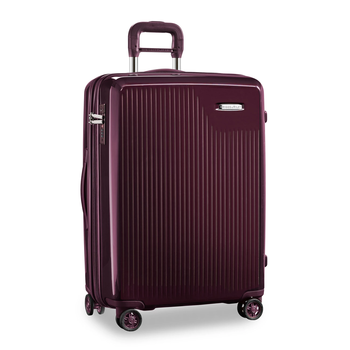 BRIGGS & RILEY SYMPATICO MEDIUM EXPANDABLE SPINNER, PLUM (SU127CXSP-64)