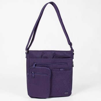 LUG MONORAIL CROSS BODY BAG CONCORD PURPLE