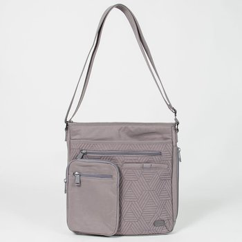 LUG MONORAIL CROSS BODY BAG PEARL GREY