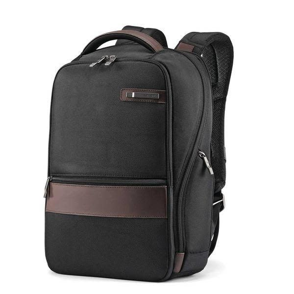SAMSONITE KOMBIZ SMALL BACKPACK (134939-1051) BLACK-BROWN