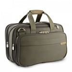 BRIGGS & RILEY BASELINE EXPANDABLE CABIN BAG (231X) OLIVE