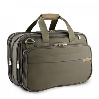 BRIGGS & RILEY BASELINE EXPANDABLE CABIN BAG (231X) OLIVE