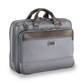 BRIGGS & RILEY @WORK MEDIUM BRIEF (KB422) GREY