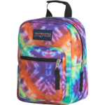 JANSPORT BIG BREAK LUNCH BAG RED/MULTI HIPPIE DAYS