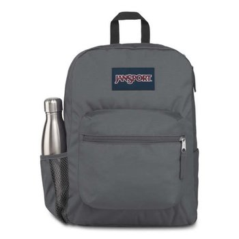 JANSPORT CROSS TOWN BACKPACK (JS0A47LW) DEEP GREY