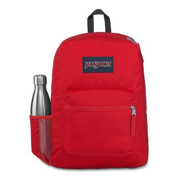 JANSPORT CROSS TOWN BACKPACK (JS0A47LW) RED TAPE