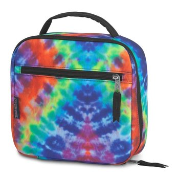 JANSPORT LUNCH BREAK (JS0A2WJX) RED/MULTI HIPPIE DAYS