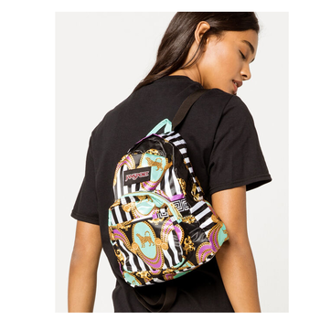 JANSPORT HALF PINT FX BACKPACK LIVING LAVISH PRINT