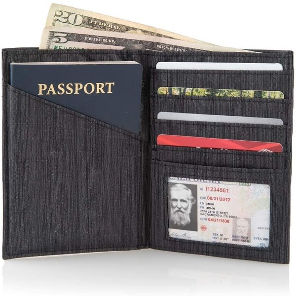 ALL-ETT RFID PASSPORT WALLET (332WC)