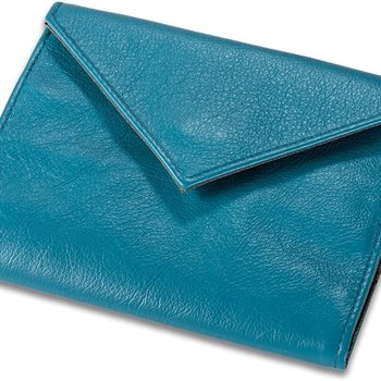 ALL-ETT SLIM ORIGINAL WOMEN'S WALLET, TURQUOISE (402)