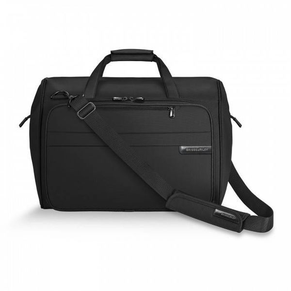 BRIGGS & RILEY FRAMED WEEKENDER, BLACK (260-4)